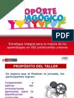 TALLER DE PLANIFICACIÓN.ppt