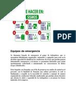 Equipos de Emergencia