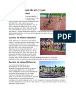 Tipos de Carreras Del Atletismo