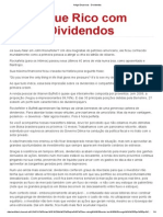 Artigo Empiricus - Dividendos