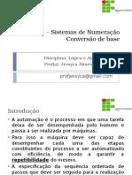 Aula 01 - Sistemas de Numeração_Conversão de Base