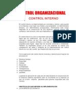 Control Organizacional Unidad 1