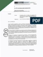 Oficio Multiple Nº 011-2015-MINEDU