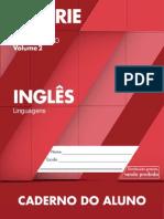 Caderno do Aluno Inglês 1 ano vol 2 2014-2017