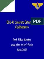 Armadura Transversal Apresentação ITA EDI41pro4