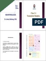 Clase 2 sinapsis quimica electrica-contraccion-somestesia y dolor.pdf