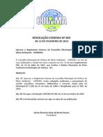 Resolução Codema 002.2015