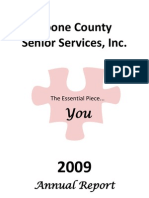 2009 Annual Report for Website