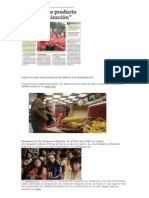 Dieta Mundial Está Empeorando Debido a La Globalización