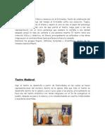 historia del teatro clásico y medieval