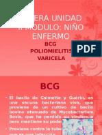 1. BCG, Polio y Varicela