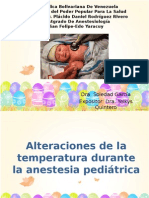 Alteracion de La Temperatura Semi Pediatria