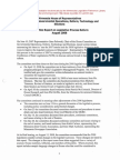 2008 Report on Legislative Reform