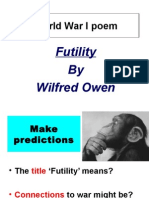 futility poem analysis
