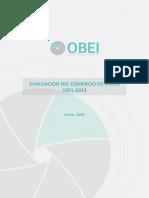 Informe Evaluación Del Comercio Exterior 1991 2013 Versión Full Color