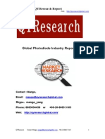 Global Photodiode Industry Report 2015