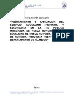 Perfil Colegio Huanuco-peru