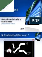 Programación II - Tema 5. Graficación Básica Con C 03052015