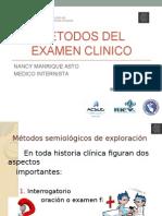 Semana 1 Sesión 3 Metodos Del Examen Clinico