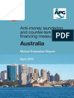 Mutual Evaluation Report Australia 2015