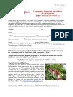 CSA Contract 48-Wk 2010