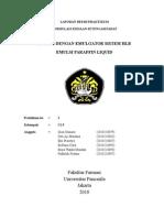 Emulsi Hlb Butuh c.1.5 Paraffin Liq