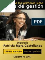 Informe 2014 Patricia Mora