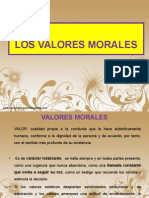 Valores Morales 2013