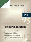 Exp Design