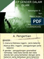 Konsep Gender Dalam Islam
