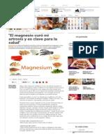 _El Magnesio Curó Mi Artrosis y Es Clave Para La Salud