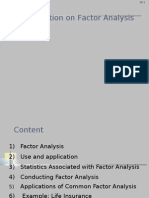 Class Factor Analysis