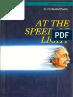 [Venkataraman] at the Speed of Light