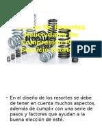 Diseño de Resortes Helicoidales de Compresión Para Servicio