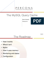 The MySQL Query Cache Presentation