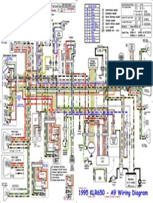 klr 650 wiring diagram kawasaki klr650 color kawasaki klr650 1995 2007 diagrama electrico  kawasaki klr650 1995 2007 diagrama