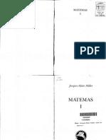 1.- Miller, J.a. Matemas I. Manantial (1987). 96p