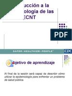 Tema 01 - Introducción a La Epidemiologia de Las ECNT