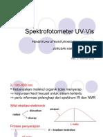 Spektrofotometer UV Vis
