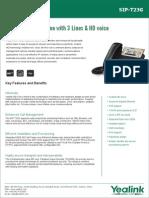 Yealink T23G Enterprise HD IP Phone