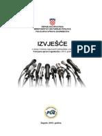 Izvješće PU zagrebačke