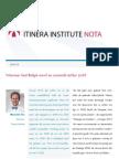 Itinera Institute nota febr 2010