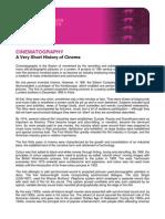 A Very Short History of Cinema