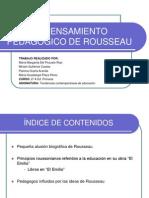 El Pensamiento Pedaggico de Rousseau