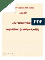 ASCE wind Problem 1