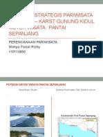 Kawasan Strategis Pariwisata Nasional – Karst Gunung Kidul