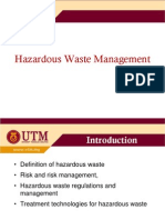 Hazard Waste Space