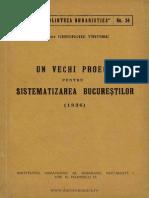 BU-34-Un Vechi Proect Pentru Sistematizarea Bucurestilor