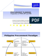 02 Procurement Planning and Budget Linkagegppb