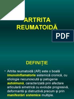 Preparate pentru tratamentul artrozei și artritei